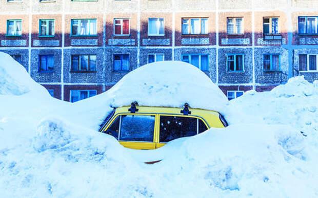9 способов выбраться, если автомобиль застрял в снегу