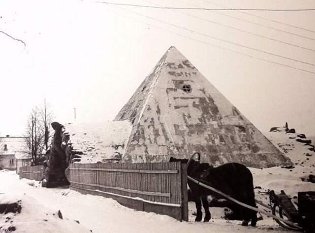 Пирамида-погреб в усадьбе Митино, под Торжком. история, мгновения жизни, фотография
