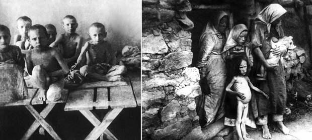 Украина. Ужасы Голодомора —как это было.