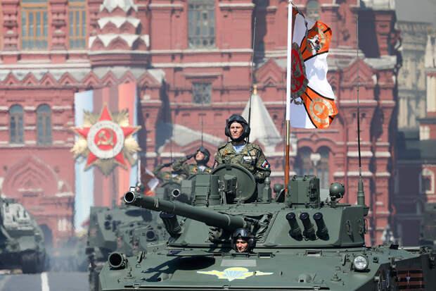 Песков рассказал о подготовке к параду Победы