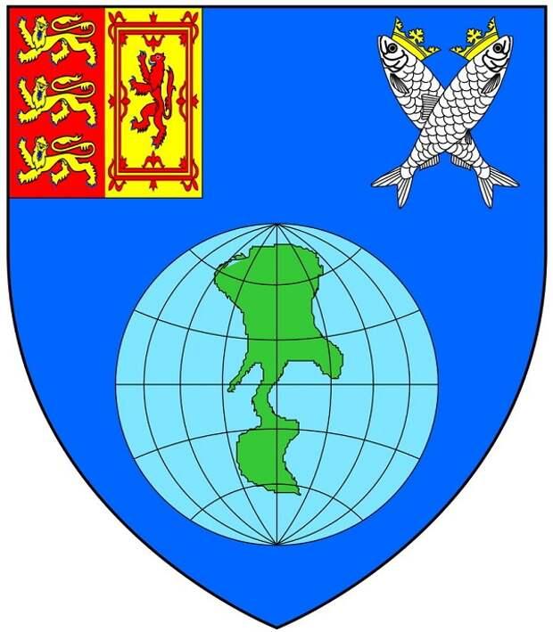 Придуманный для предприятия герб.