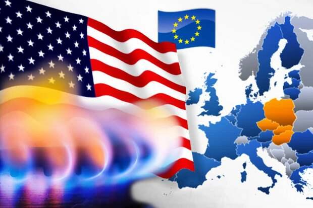 Газовая конкуренция России и США в Европе разрывает последнюю на части