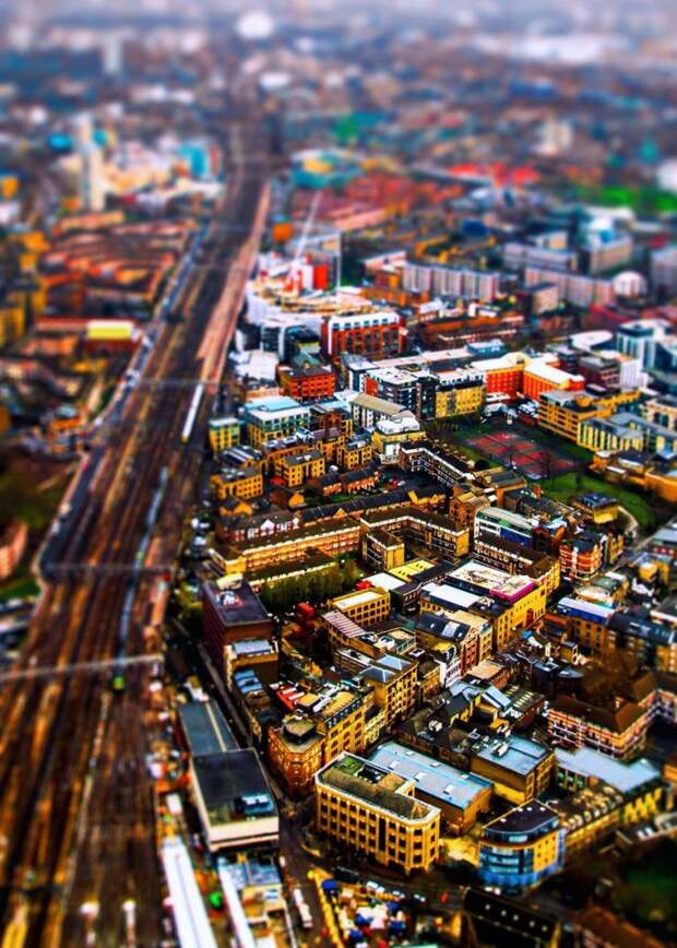 Города или игрушечные макеты?