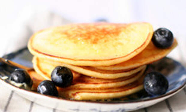 Оладьи на воде — легкий завтрак или диетический ланч