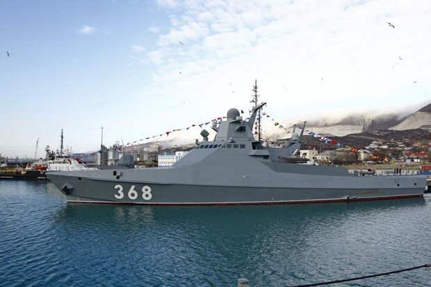 Новейший корвет начал испытания на Северном флоте