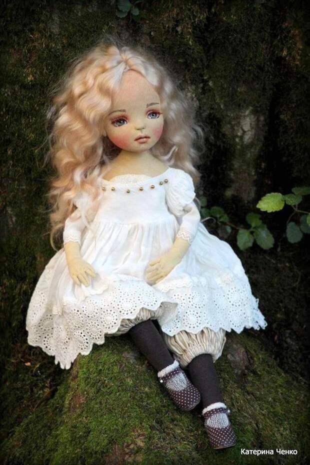 Текстильные куклы Катерины Ченко - благодарим автора!