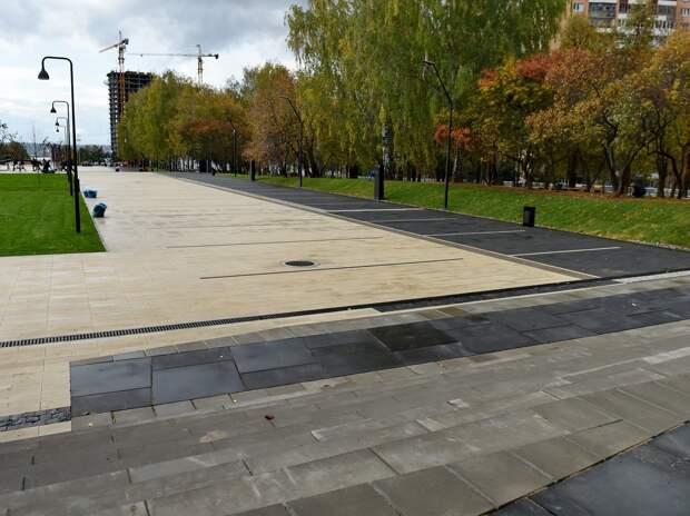 Реконструкция части Центральной площади завершилась в Ижевске