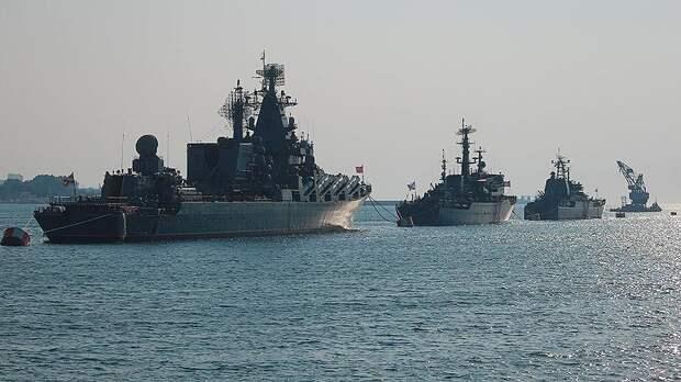 Киев признал беспомощность перед российским флотом в Азовском море