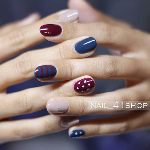 Идеи маникюра для коротких ногтей, модный маникюр