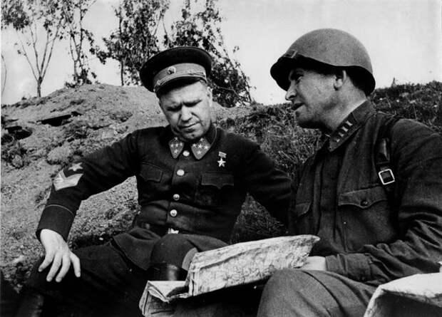 Как Жуков топтал ногами подарок десантников