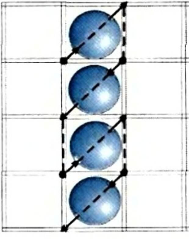 Уроки вышивки бисером, вышиваем вертикальными рядами.