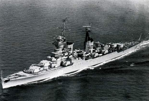 Последнее пристанище крейсера «Мурманск», бывшего гордостью советского флота
