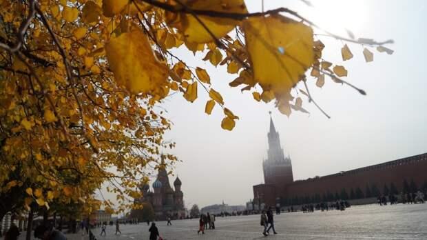 Теплая погода в Москве сохранится на ближайшую неделю
