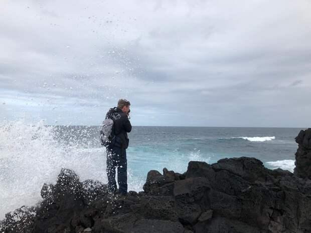 В погоне за гигантской волной. Часть 5.2. А так ли высоки волны на пляже Виктория?!