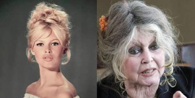 А какие были красотки! 9 знаменитых красавиц, сильно изменившихся с возрастом