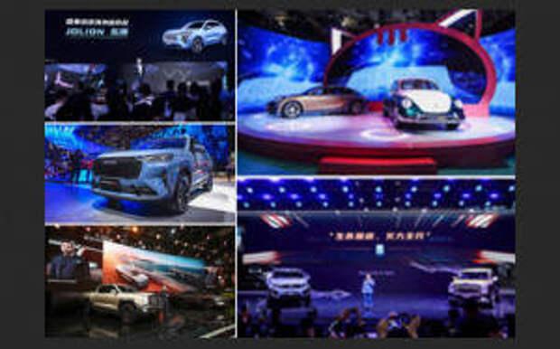Яркие моменты Auto Shanghai: GWM уверенно расширяет свою географию за счет пяти брендов