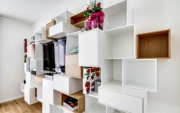 Стеллажи для комнаты: особенности и разновидности (119 фото)