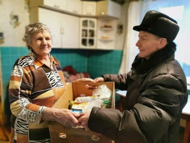 Жительница Хорошёво-Мнёвников собрала для стариков полтонны продуктов