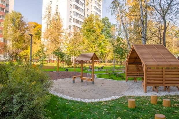 Первые дворы, спроектированные вместе с горожанами, сданы в Москве