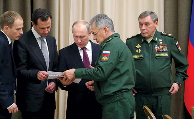 Владимир-Путин-Башар аль-Асад