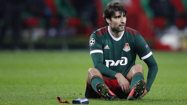 Чорлука получил травму в матче с «Уфой» и был заменен