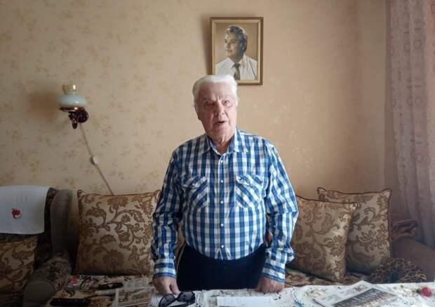Ветеран из СЗАО рассказал о тяжелых временах войны