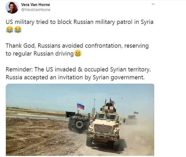 Урок для янки: русских не остановить