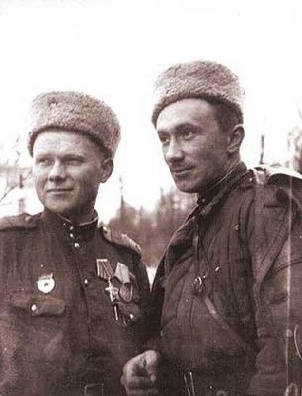 Алексей Смирнов на фронте