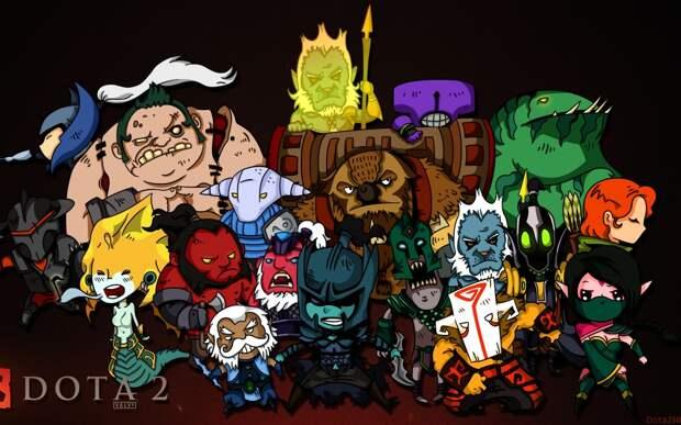 С кем из героев Доты 2 вы себя ассоциируете?