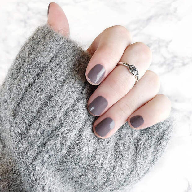 осенний дизайн ногтей фото