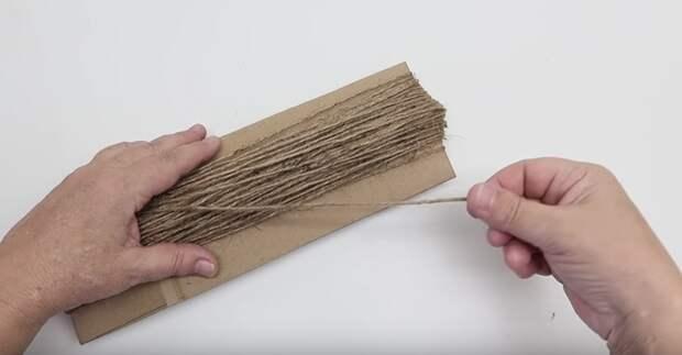 Копеечный и простой способ отбеливания джута