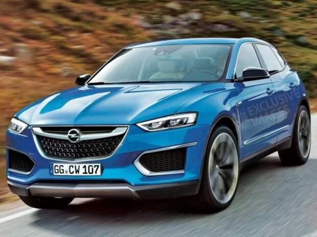 Opel анонсировал новый флагманский кроссовер