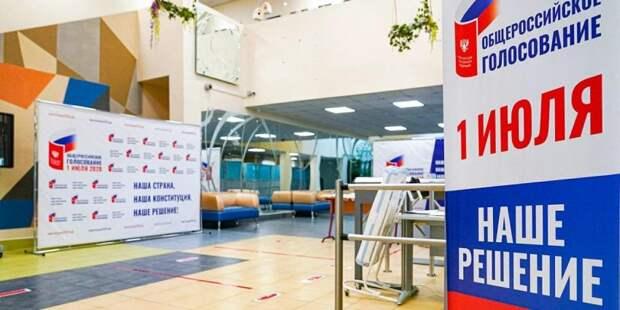 Более 4 млн. москвичей проголосовали по поправкам к Конституции. Фото: mos.ru