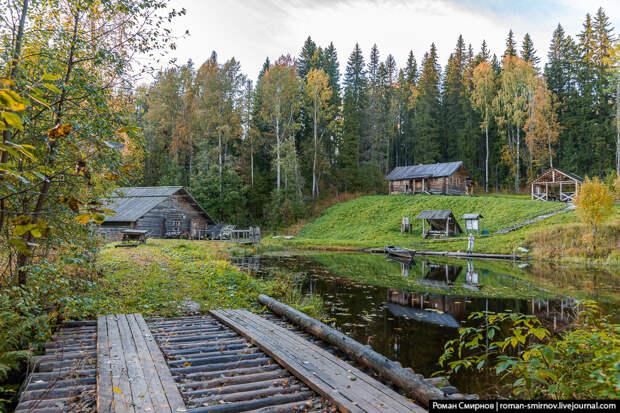Красоты России. Осень на озерах Лекшмозерья.