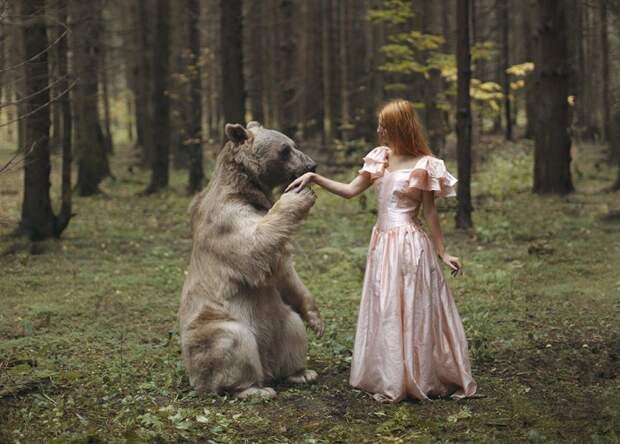 Дикая природа и бесстрашные русские модели