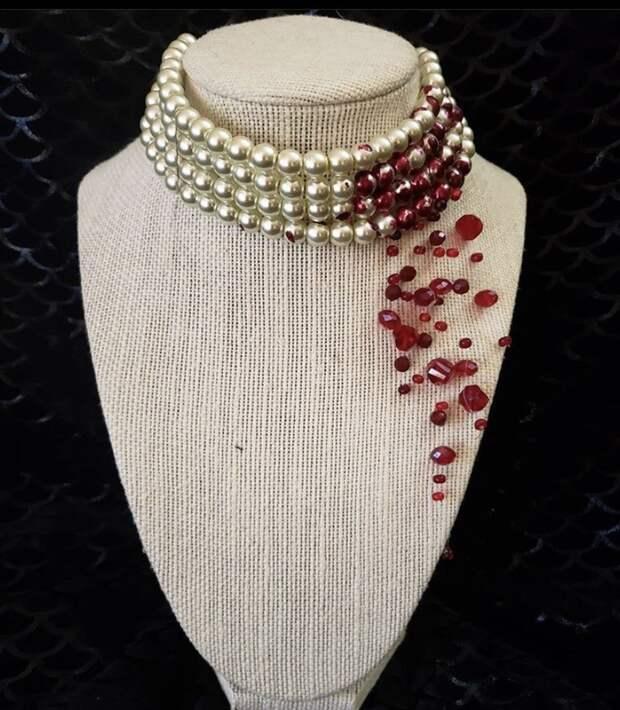 Ожерелье для Хэллоуина