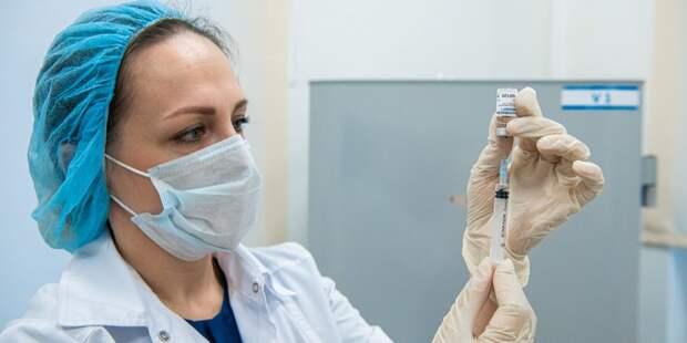 В ТЦ «Город» в воскресенье закончится первый этап вакцинации от COVID-19