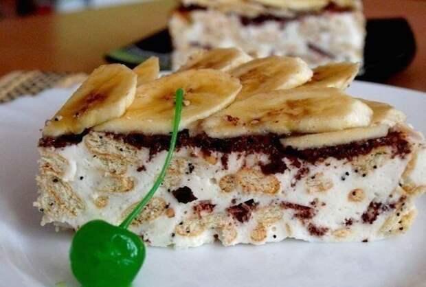 Сметанный торт из крекера. Мягкий и нежный вкус