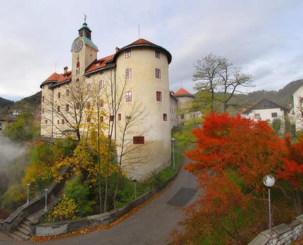 Замечательные замки Словении