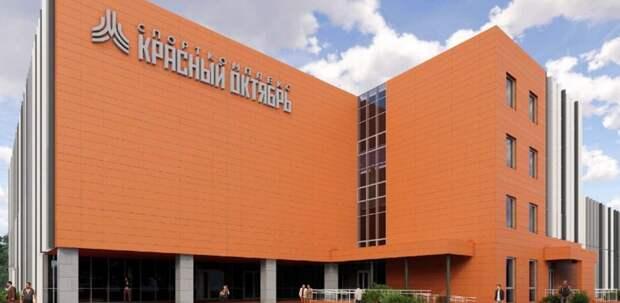 ФОК терракотового цвета построят около стадиона «Красный Октябрь»