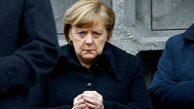 Меркель снова затрясло