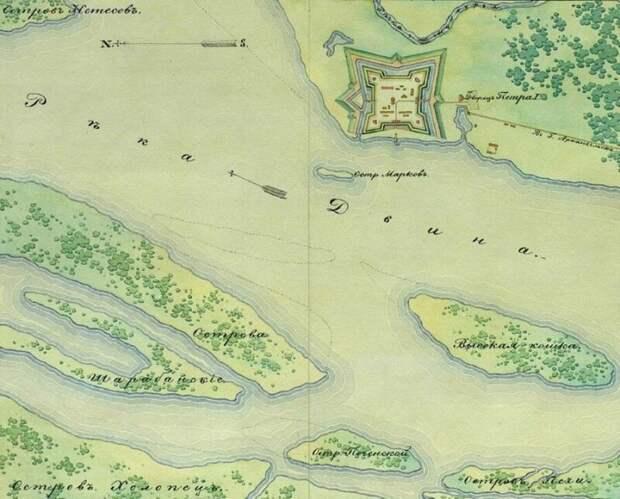Как Иван Рябов шведскую эскадру на мель посадил Иван Рябов, Эскадра, мель, посадил, швед