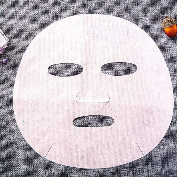 Тканевая маска своими руками дома