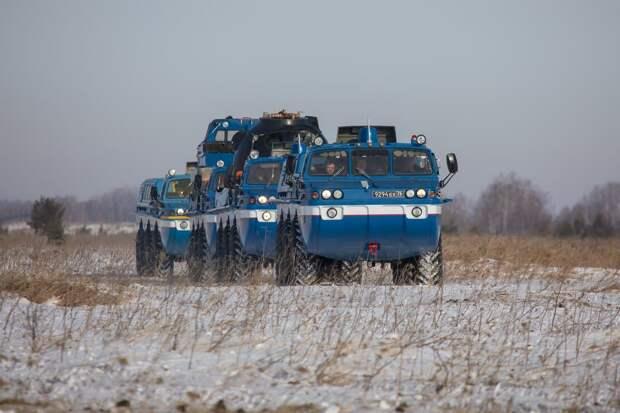 Авиационные силы поиска и спасания ЦВО вылетели в район посадки «Союза МС-17»