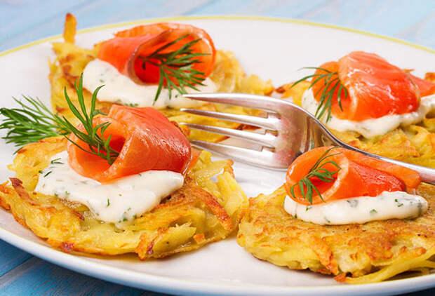 Вкуснейшая закуска из картошки