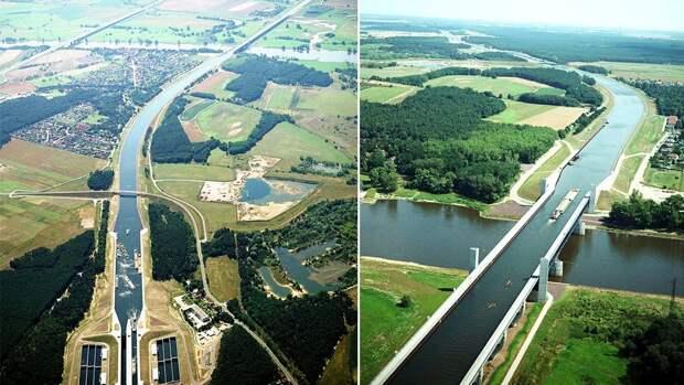NewPix. ru - Магдебургский водный мост в Германии