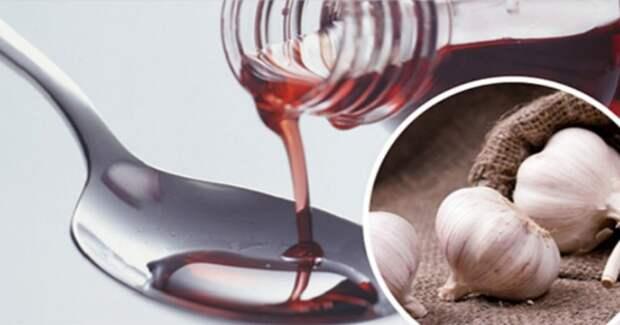 Красное вино с чесноком для похудения