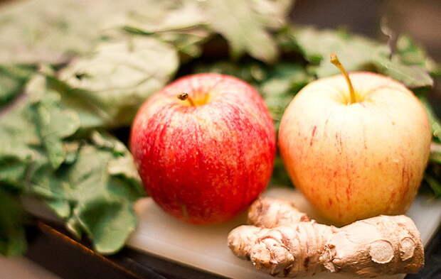 Компот из яблок, имбиря и мандаринов