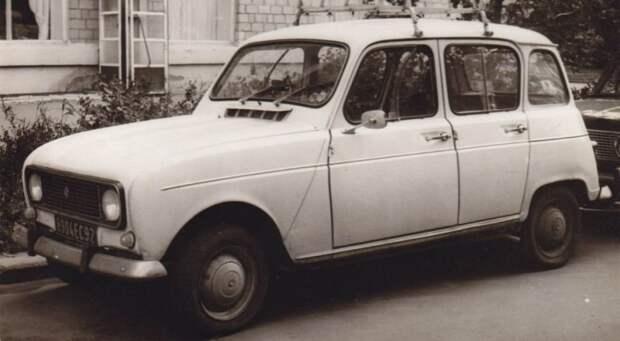 Renault 4 Василёк, НАМИ, НАМИ-1101, авто, автоистория, автомир, автомобили, разработки