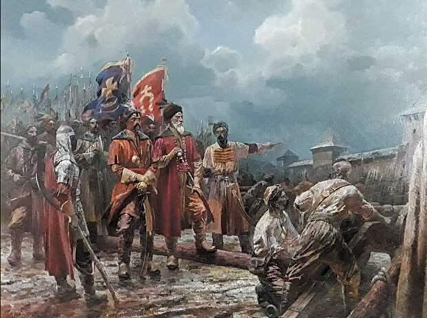 Кровавый след запорожских казаков в русских городах - о чём молчат учебники (часть 2)